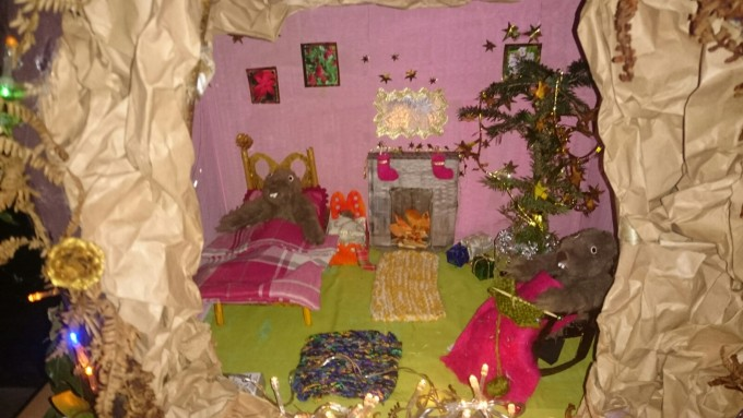 "The runaway vote winner was ""Beaver Family Christmas "" tree by Beaver Timber with  an amazing  minature mouse home"
