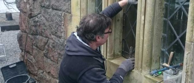 Kirk Library and Vestry Windows Restorations and Improvement