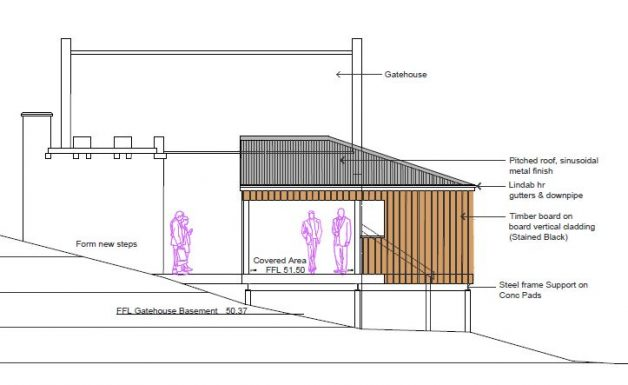 Gatehouse Visitor Toilet Plans Extract