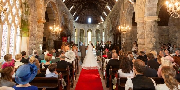 Argyll Wedding - Red Carpet